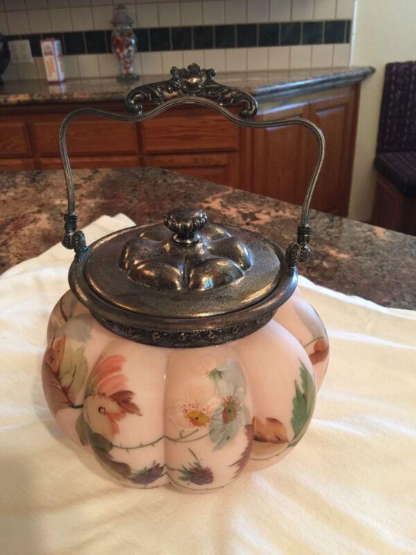 Antique Mt. Washington Buscuit Jar