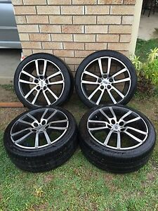 "Ba bf fpv 18"" wheels and tyres South Brisbane Brisbane South West Preview"