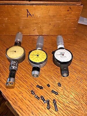 Standard Dial Bore Gages No. 2 1-1 1732 25mm-39mm Qty 3 Dial Bore 1 Head