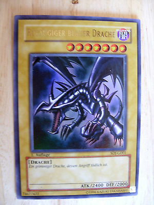 Rotäugiger Schwarzer Drache LOB-G056 Ultra-Rare YU-GI-OH PL