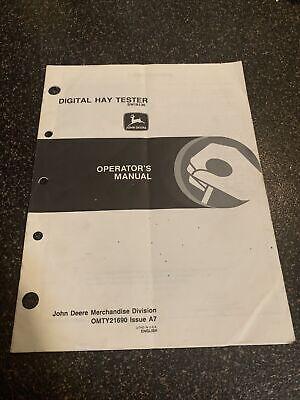 John Deere Digital Hay Tester Operators Manual-sw16136