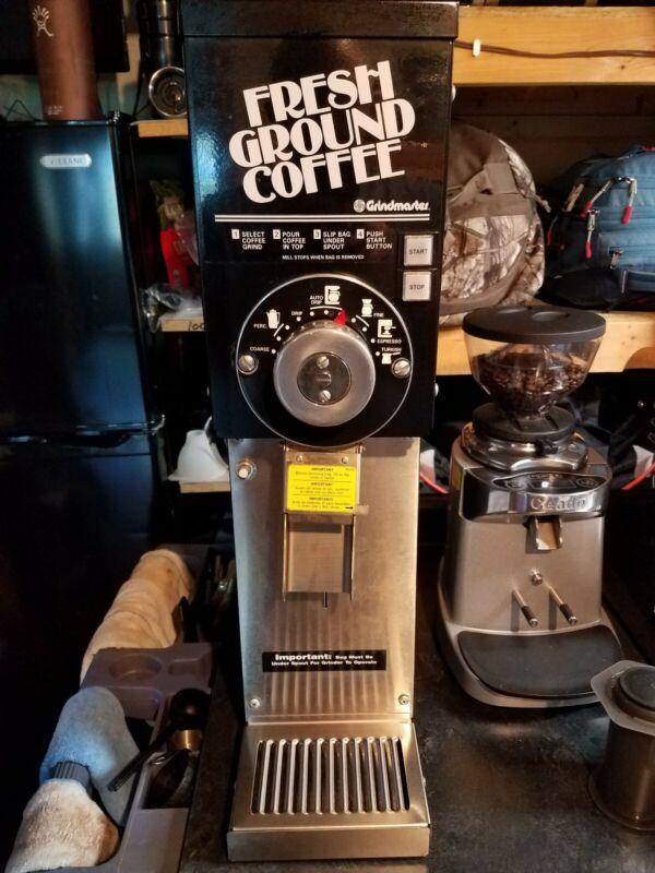 Grindmaster 875 Bulk Bean Commercial 3 lb Coffee Grinder Used Clean!