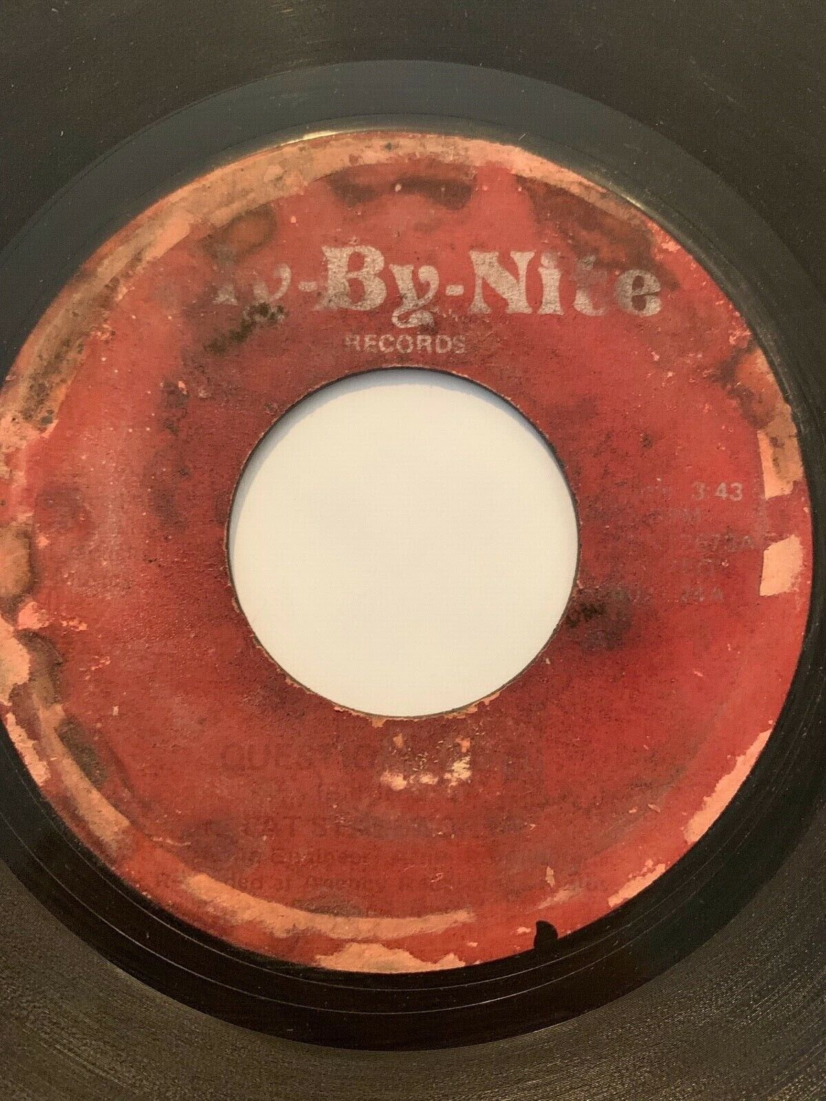 Crossover Soul Funk 45/ Pat Stallworth Questions Pt 2 Fly-By-Nite Original  - $120.00