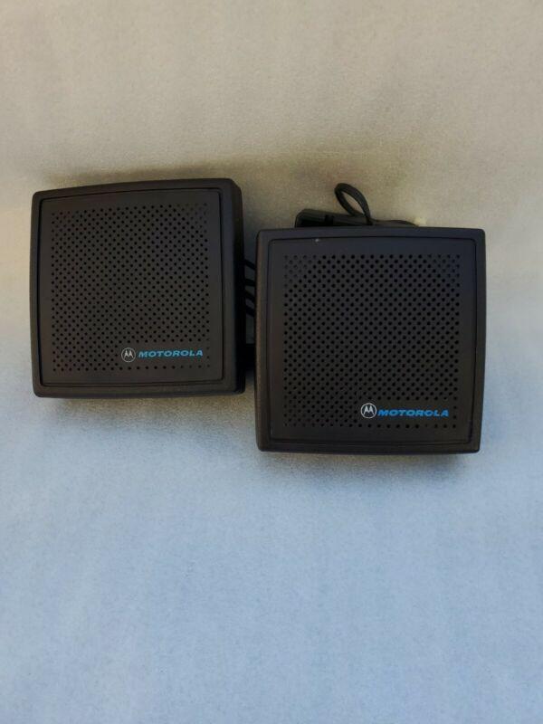 2 Motorola HSN4018A Mobile Radio External Speaker