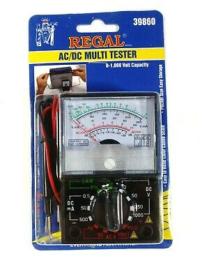 Regal 39860 Acdc Multi Tester New