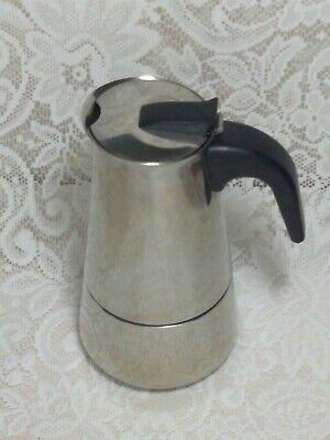 IMUSA B120-22062M Stainless Steel Stovetop Espresso Coffeemaker 6-Cup moka