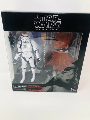 STAR WARS THE BLACK SERIES HASBRO SEALED STORMTROOPER WITH BLAST ACCESSORIES