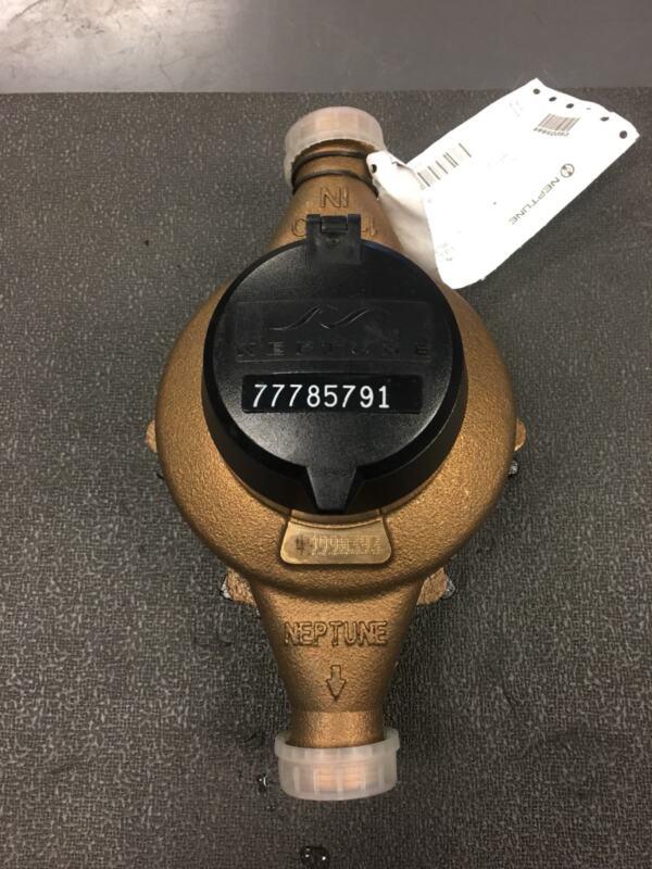 "Neptune New 1"" T-10  Direct Read Water Meter NSF61"