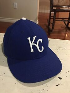KC Royals New Era fitted hat