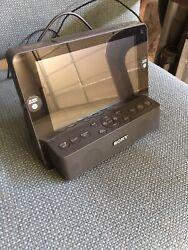 SONY Dream Machine ICF-CL75iP iPhone iPod FM-AM Clock Radio w/ 7 LCD Screen