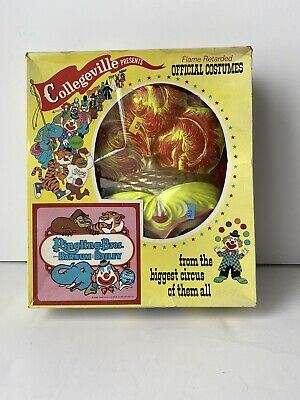 COLLEGEVILLE COSTUMES VINTAGE Halloween Ringling Bros Barnum Bailey 1960s