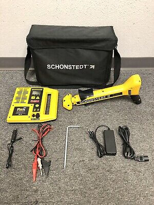 Schonstedt Rex Multi-frequency Pipe Cable Locator Magnetic Locating System