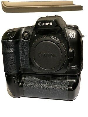 Infrared Canon D60 camera with battery grip
