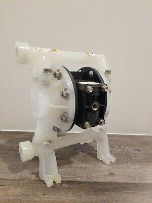 Aro Ingersoll Rand Pd05p-ars 12double Diaphragm Pump Read Description