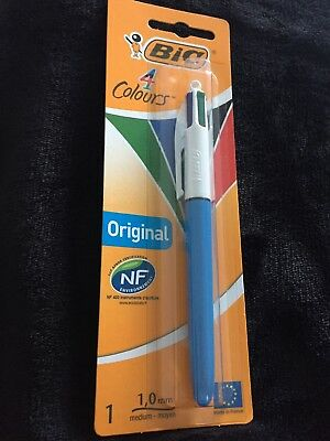 Bic Pen 4 In 1 Colours Red Black Blue Green All In One Pen
