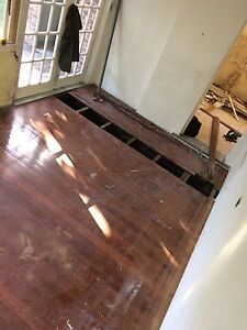 10sqm Hardwood Timber Flooring 85mm Used Tallowwood Recycled Tempe Marrickville Area Preview