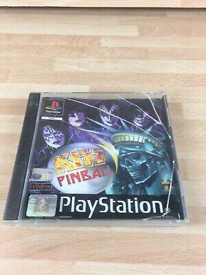 Kiss Pinball (Sony PlayStation 1) Ps1