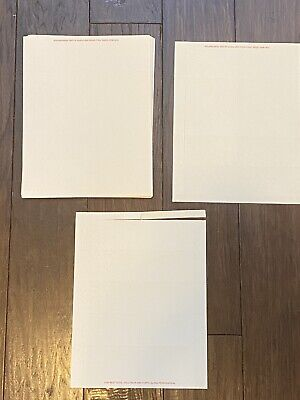 Avery 5376 Ivory Laser Business Cards 2x3.5 Unused 250 Ct.