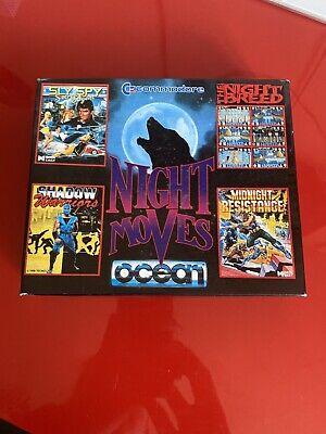 Commodore 64 C64 Game - Night Moves Big Box in Good condition - Complete - Rare
