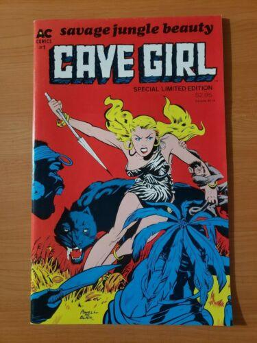 Savage Jungle Beauty: Cave Girl #1 One-Shot ~ NEAR MINT NM ~ 1988 AC Comics