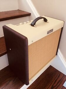 Fender Blues Junior III Cream-Wine Guitar Amp Speaker Vintage 30