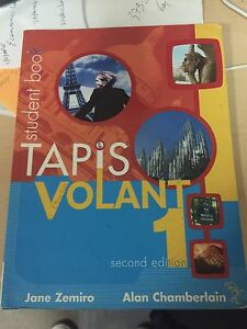 Tapis Volant 1 French Book for school students 2nd ed Aspley Brisbane North East Preview