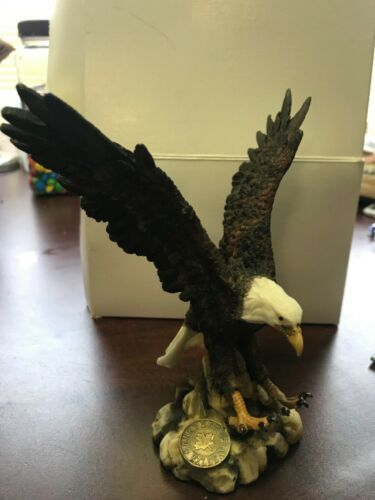 The Canadian Wilderness Eagle Figurine