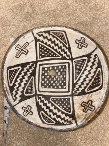Famous Baca Book Published Anasazi Mimbres Geometric Bowl: Evans Collection