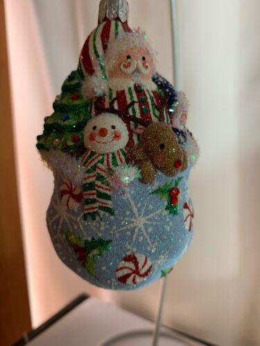 Patricia Breen ornament, Tis Christmastime, Light Blue #2500NM 2005 NM catalogue