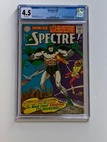 Showcase #60 - CGC 4.5 - 1966 - Origin & 1st App of the Spectre in Silver Age