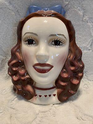"VTG Clay Art Decorative Mask Dorothy Wizard of Oz 10"" X 7 3/4"""