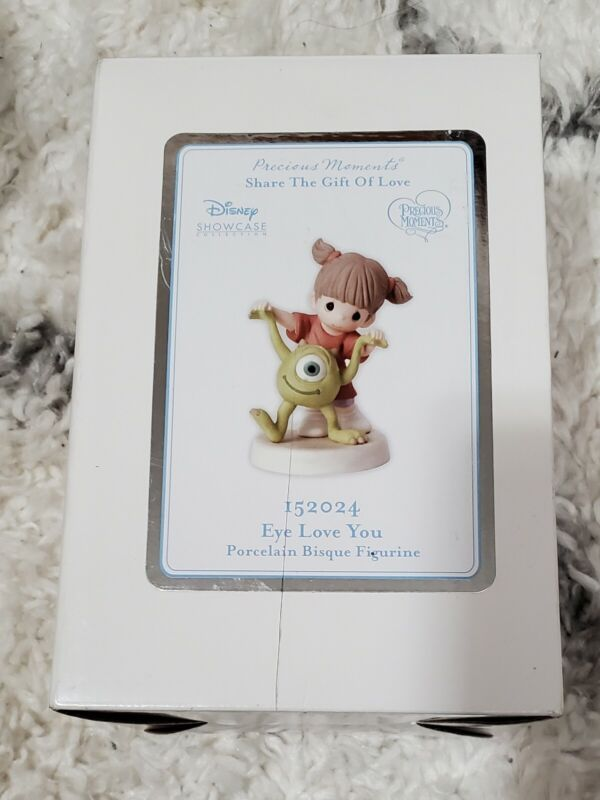 Precious Moments-Disney Showcase-Monsters Inc-Boo And Mike-Very Hard To Find!!