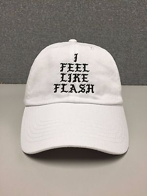 I FEEL LIKE FLASH Hat (slide buckle) gordon dc comics dwyane wade kanye dwade