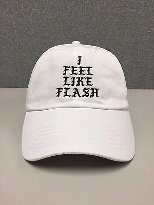 I FEEL LIKE FLASH Hat (slide buckle) gordon dc comics dwyane wade kanye dwade