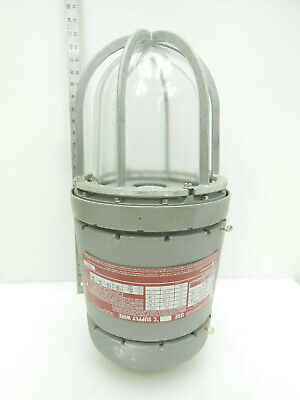 Killark Explosion Proof Light Hzj-700-hnza 250 Watt Mercury Vapor 120-277