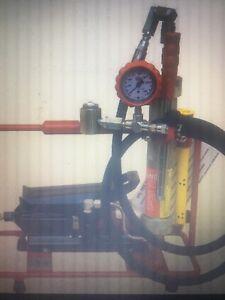 Val-Tex Air/Hydraulic Grease Gun 15K PSI