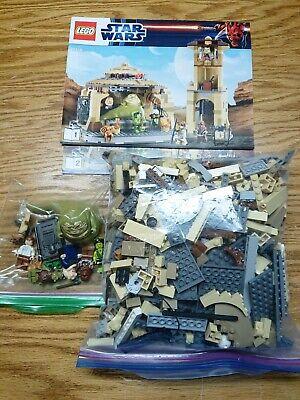 Lego Star Wars Set 9516 Jabba's Palace Complete EUC Manual Minifigures!