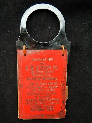 c1930 Celluloid Advertising Candlestick Telephone Hanging Phone Number Index