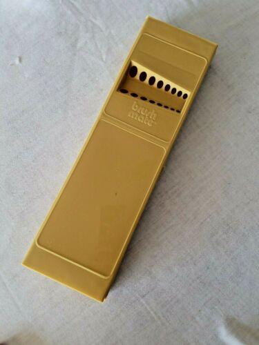 "PAINT BRUSHMATE HINGED PLASTIC  BOX HOLDER ORGANIZER 15"" CARRY CASE"