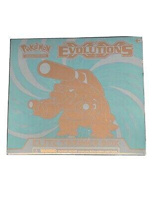 Pokemon XY Evolutions Elite Trainer Box - Fast Secured Shipping - Blastoise