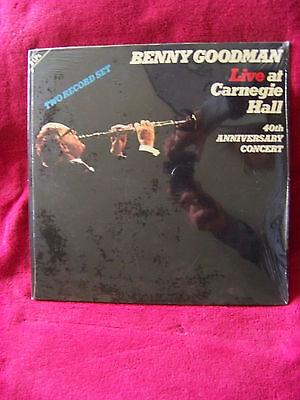 Benny Goodman - Live at Carnegie Hall  40th Anniversary concert  D-LP   NEU OVP