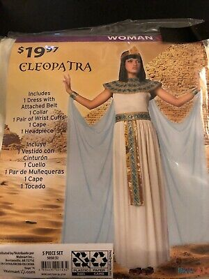 Halloween Costume Woman's Cleopatra Small or XLarge New](Small Halloween Costumes)