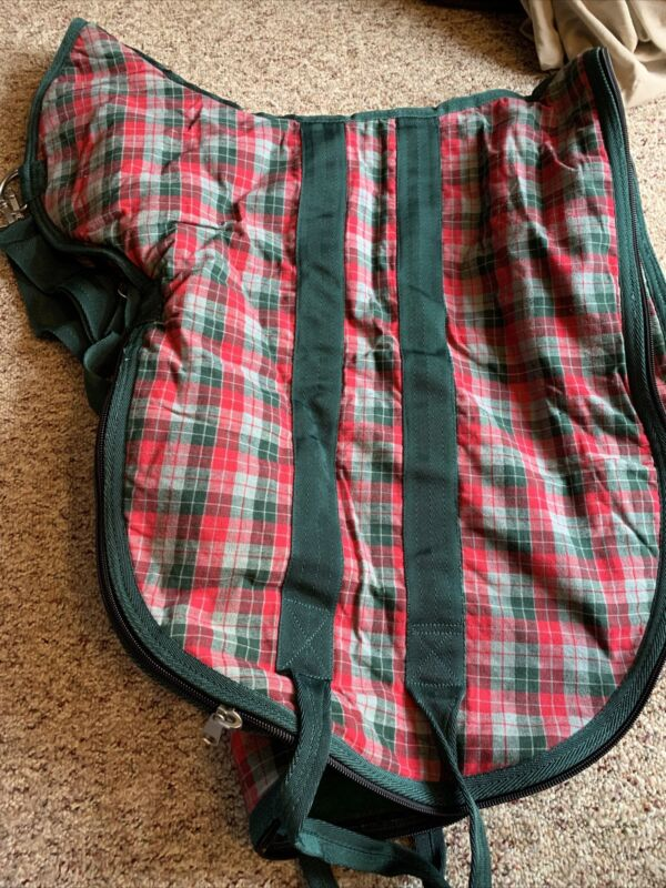 Matching Bridle And English Saddle Bags By Horsemaster