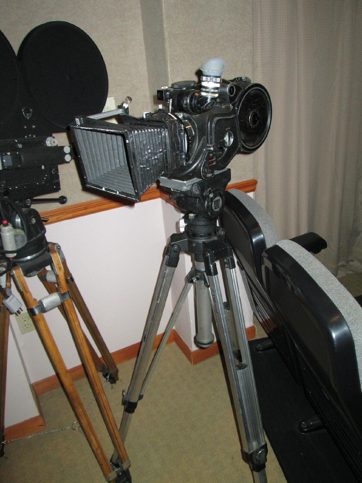 Arriflex 35BL Studio Camera, Tripod, Head, Matte Box, Magazine, Clean!