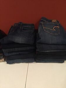 Women's  jeans and capris - size 27/4