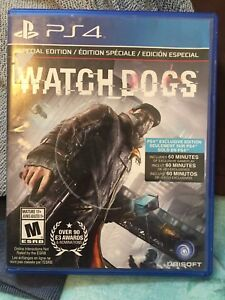 PS4 GAME: WATCH DOGS