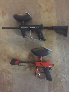 Paintball starter gun and speedball make an offer
