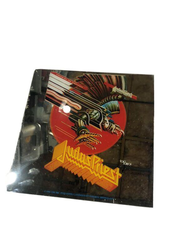 Judas Priest Carnival Prize Mirror 12x12 Screaming for Vengeance - VINTAGE