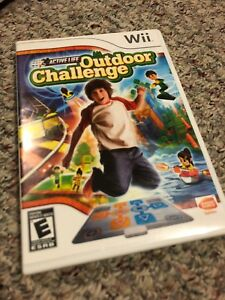 Wii Outdoor Challenge Game