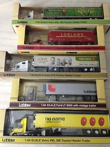 Loblaw DCP tractor trailers set of 5